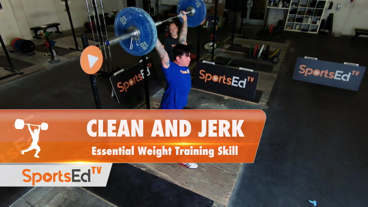 Clean and Jerk - Weight Training Essential