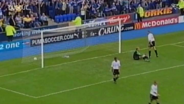 Strupar helps Derby earn a point at Everton