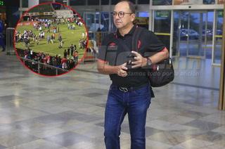 Osman Madrid tras actos de vandalismo: