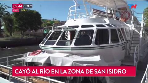 Un chico de 19 años cayó de un catamarán mientras se celebraba una fiesta