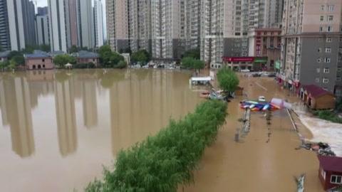 Al menos 25 muertos por lluvias torrenciales en China