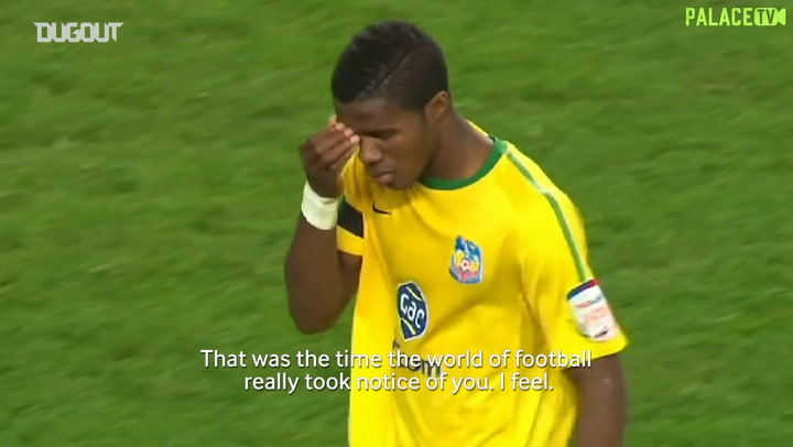 Wilfried Zaha's career defining game against Manchester United