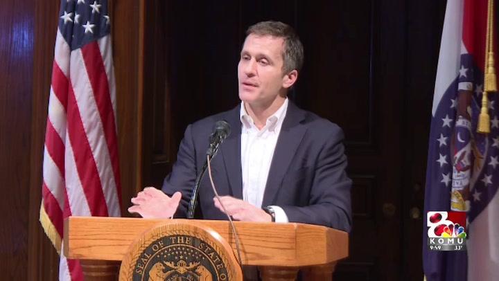 Gov. Greitens addresses affair Monday