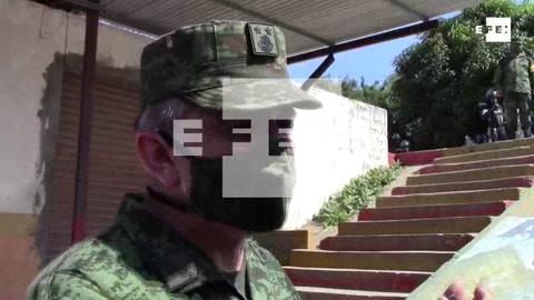 General de la Guardia Nacional mexicana explica despiegue de hombres en la frontera