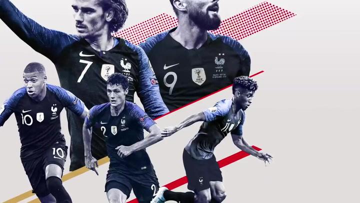 Los 23 jugadores franceses seleccionados por Deschamps contra Albania y Moldavia