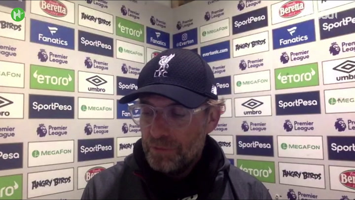 Klopp: Liverpool deserved point and Ancelotti will agree with me!