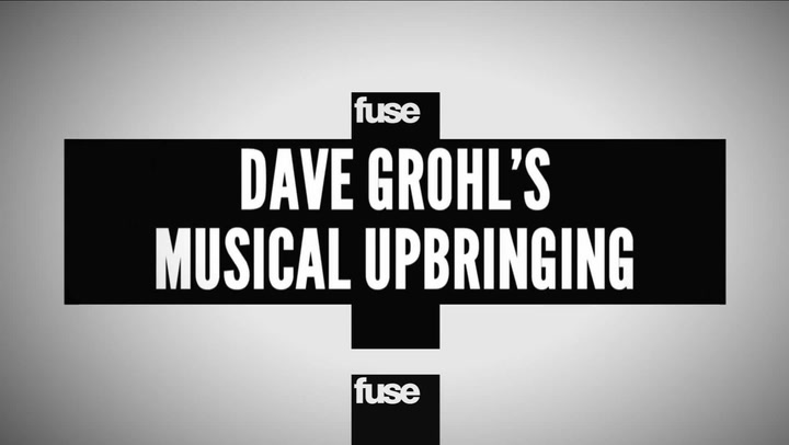 Interviews: Dave Grohl Musical Upbringing