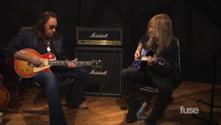 Ace Frehley and Chris Caffery Part 1
