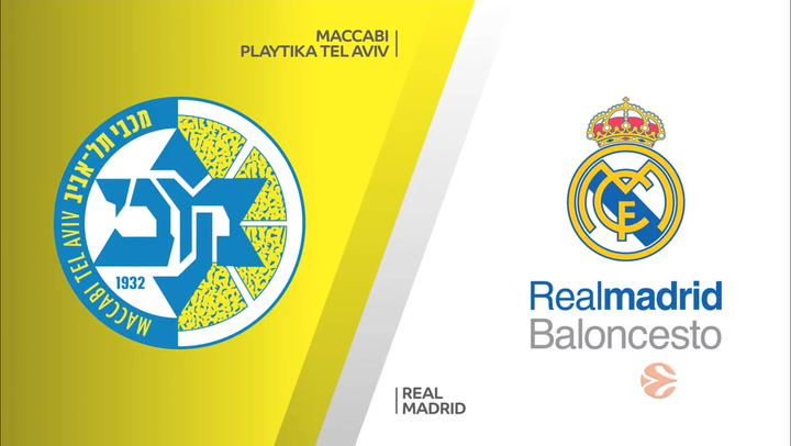 Euroliga: Maccabi Playtika Tel Aviv - Real Madrid