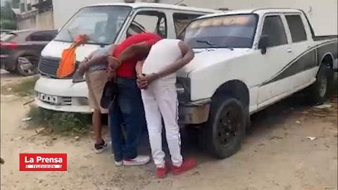 Capturan a tres hombres tras asalto a clínica en San Pedro Sula