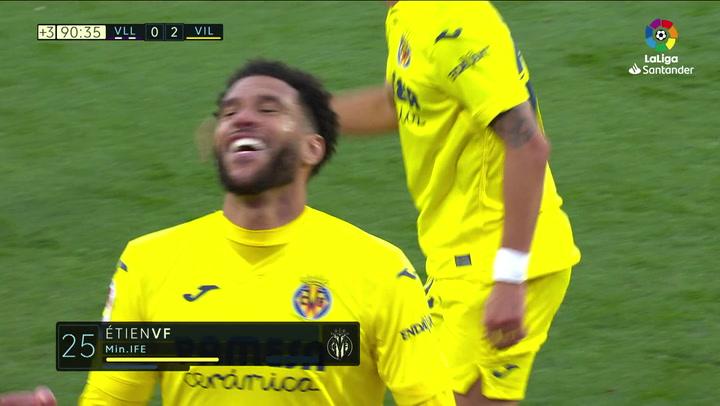 Gol de Capoue (0-2) en el Valladolid 0-2 Villarreal