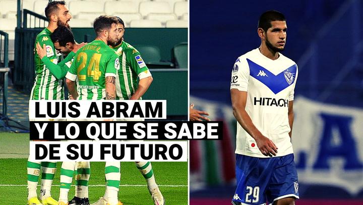 Luis Abram a poco de resolver su futuro con Vélez Sarsfield