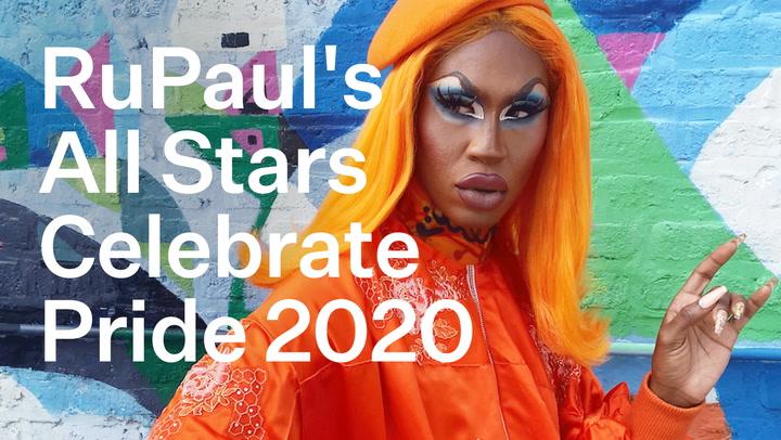 Rupaul's All Stars Season 5 Show Off Their Fierce Pride 2020 Looks