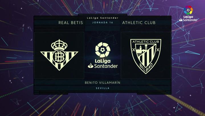 Resumen 90' Real Betis - Athletic Club J16