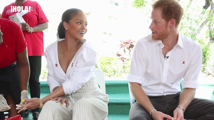 La ingeniosa respuesta de Rihanna al preguntarle si asistirá a la boda del príncipe Harry y Meghan Markle