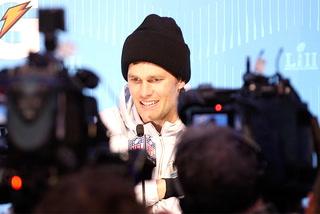 Patriots' Tom Brady and Bill Belichick on Super Bowl 52 opening night