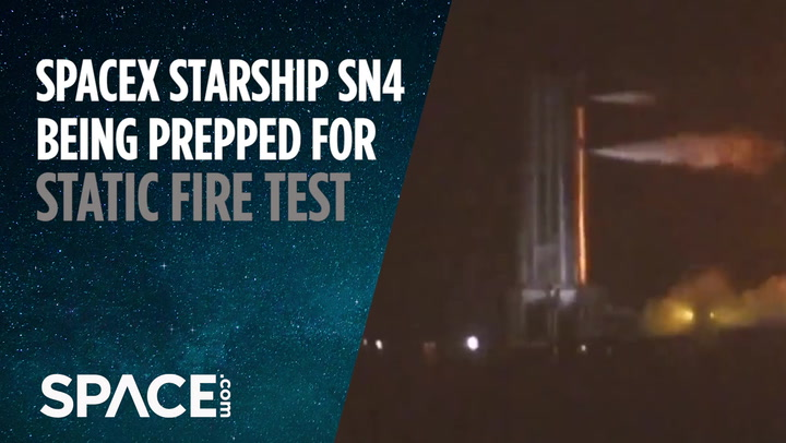 SpaceX Starship SN4 gets Raptor engine, prepped for static fire test