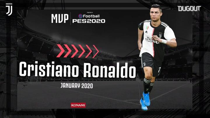 Cristiano Ronaldo January's MVP