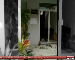 وکلاء کا اسلام آباد ہائیکورٹ پر دھاوا، چیف جسٹس کے چیمبر میں توڑ پھوڑ