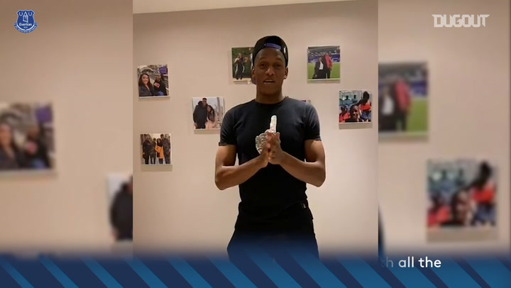 Yerry Mina on how to combat coronavirus