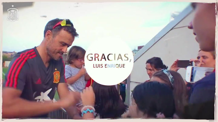 El vídeo de despedida de la RFEF a Luis Enrique