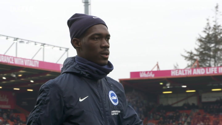 Yves Bissouma: 'Graham Potter is like my dad'