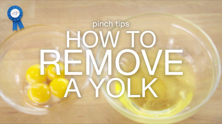 pinch tips: How to Remove a Yolk