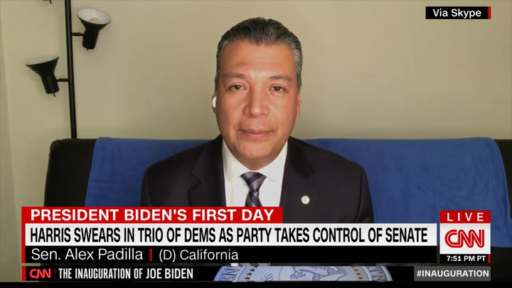 Dem Sen. Padilla: Shortening Biden Plan's Path to Citizenship 'on the Table'