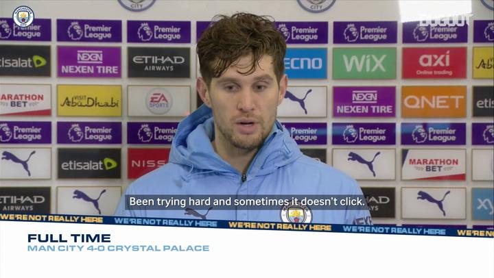 John Stones delighted to break Premier League duck