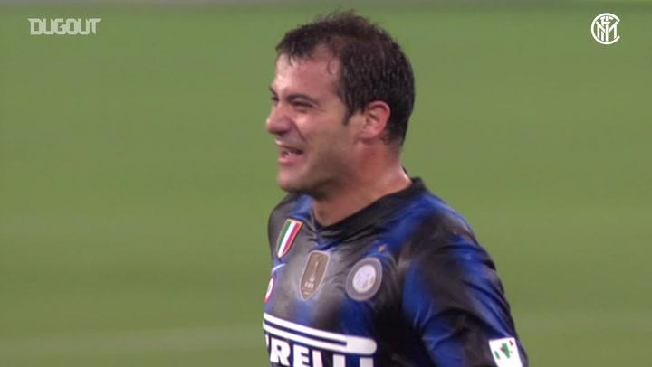 Dejan Stanković's Coppa Italia semi-final winner vs Roma