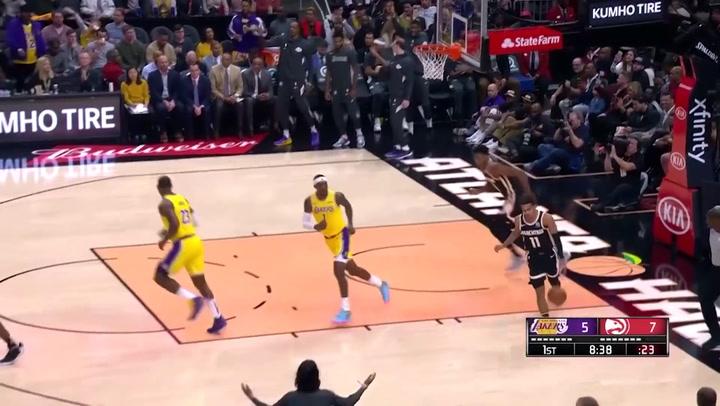 LeBron James (Lakers), el más destacado de la jornada de la NBA del 15 de diciembre 2019