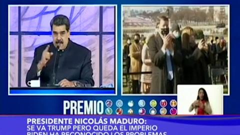 Maduro invita a Biden a