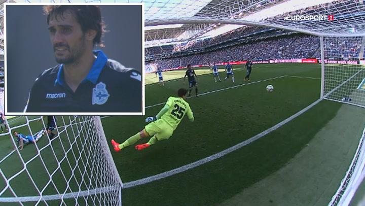 Highlights: Deportivo spænder ben for sig selv med flot selvmål