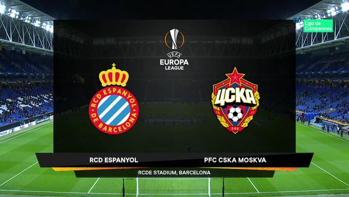 Europa League Resumen y Goles del Espanyol-CSKA