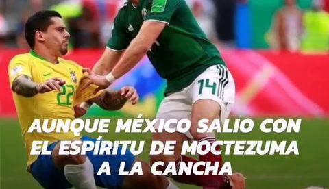 Brasil elimina a México del Mundial de Rusia 2018
