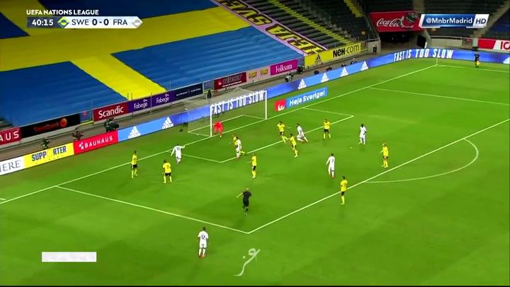Mbappé da la victoria a Francia con este golazo ante Suecia
