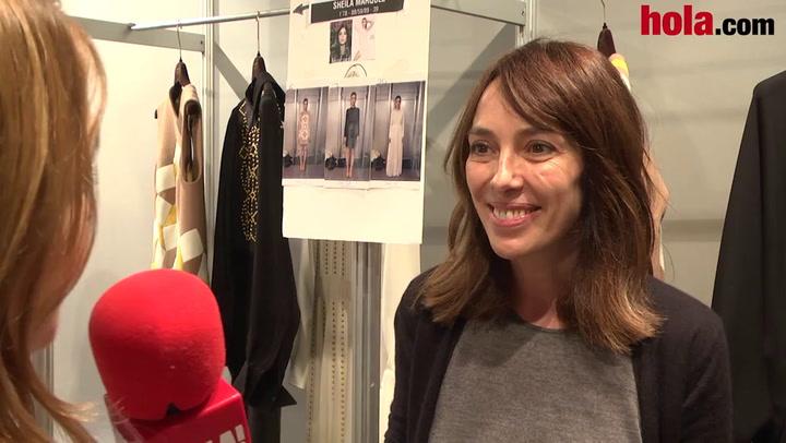 Teresa Helbig: 'Es una colección en la que se han cuidado mucho los detalles'