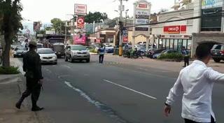 Fuerte resguardo de seguridad para Gianni Infantino en Tegucigalpa, Honduras