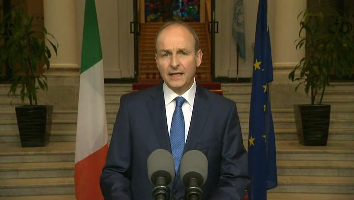 Taoiseach Micheal Martin confirms the end of Ireland's lockdown is near