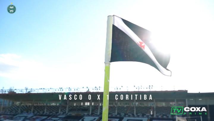 Behind the scenes of Coritiba's away victory over Vasco