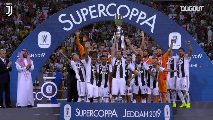 Juventus' last Supercoppa Italiana win