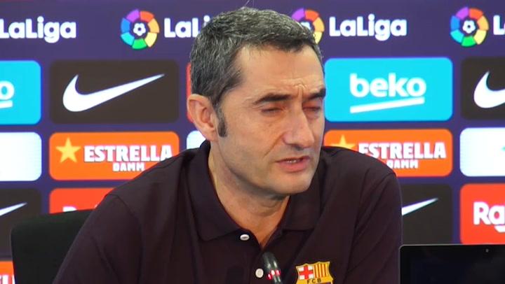 Valverde confirma que cuenta con Messi para el fin de semana