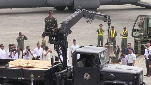 EEUU devuelve a Filipinas trofeos de una guerra de hace 120 años