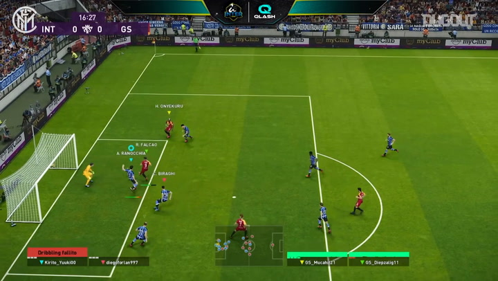 Inter Qlash beat Galatasaray Esports in 2020 PES Friendly Cup