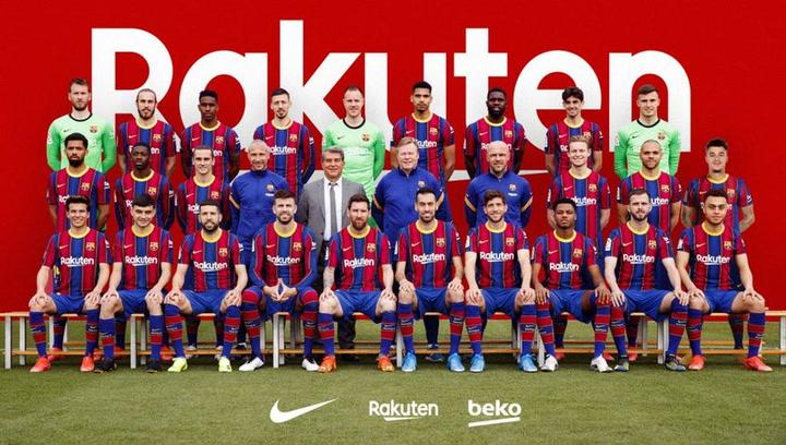 El Barça se hace la foto oficial de la temporada