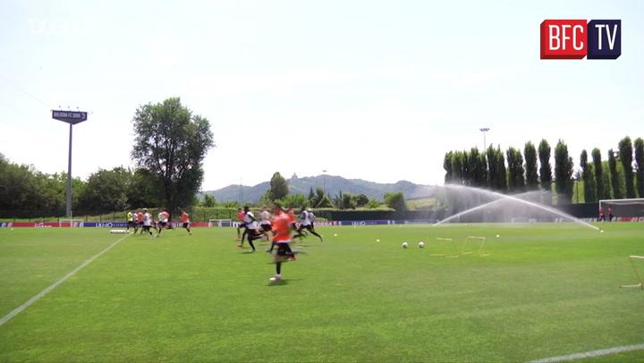 Bologna Sampdoria Maçına Hazırlanıyor