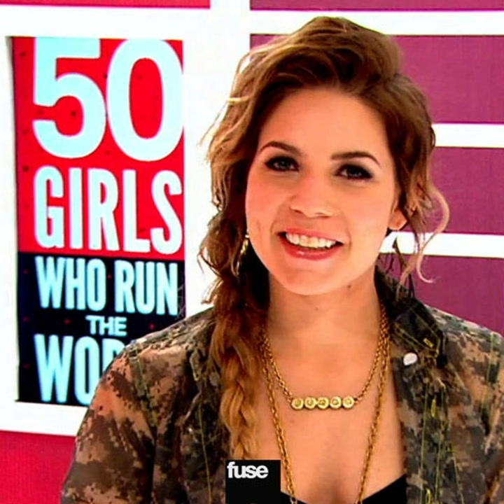 Behind The Scenes With Skylar Grey: 50 Girls Who Run The World