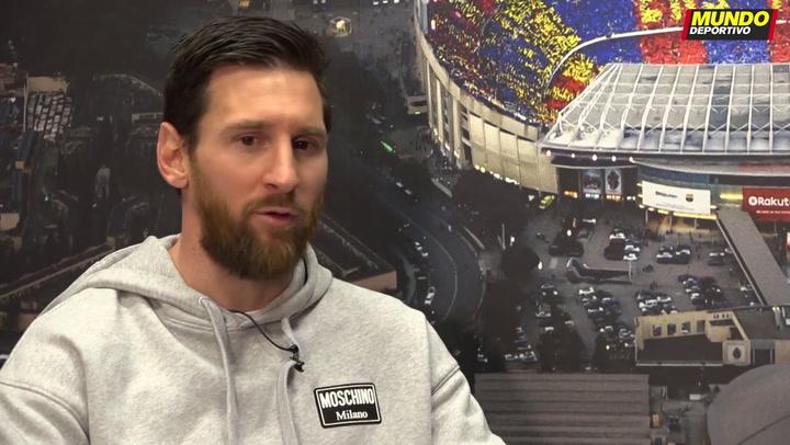 Messi analiza la actualidad del Barça y desvela sus deseos para la Champions (2)
