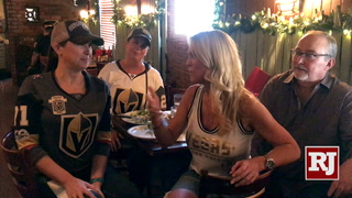 Golden Knights Fans Land in San Jose – VIDEO