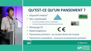 La classification des pansements